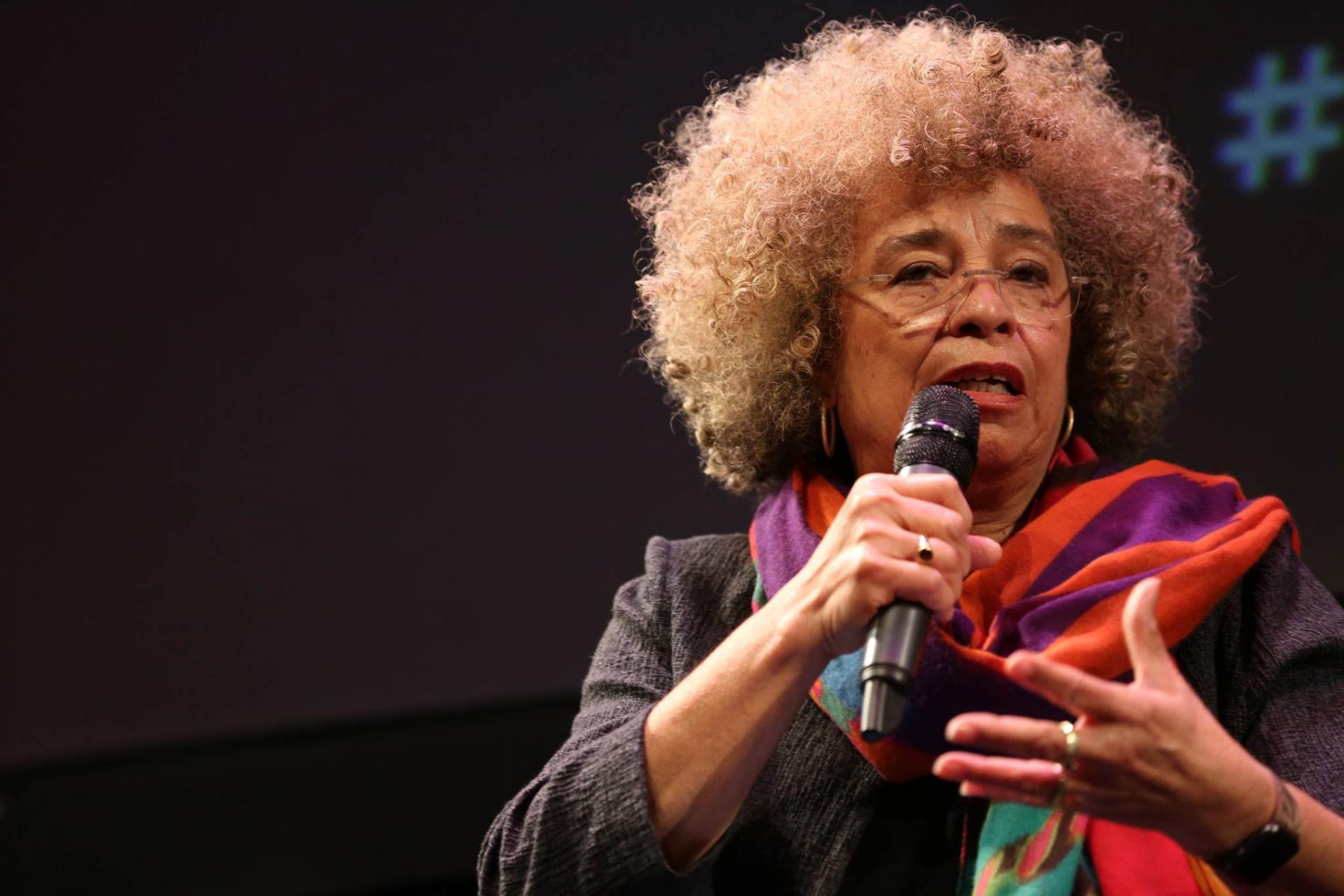 Angela Davis, keynote speaker at Friday night event.