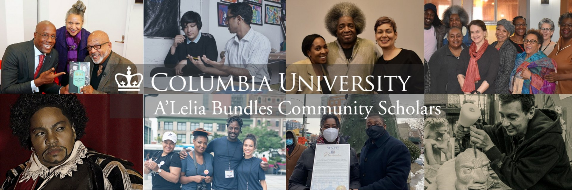 Community scholars collage