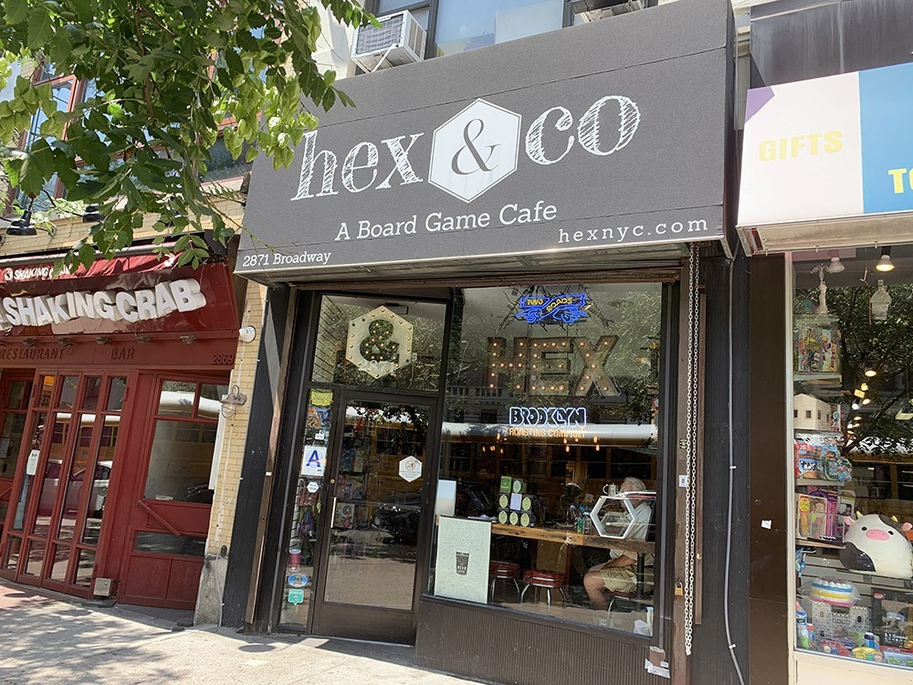 Hex & Co.'s current location at 2871 Broadway